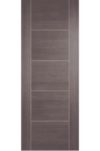 Internal Door Medium Grey Laminate Vancouver Prefinished
