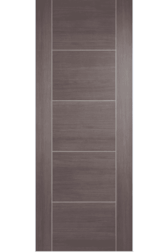 Internal Fire Door Medium Grey Laminate Vancouver Prefinished