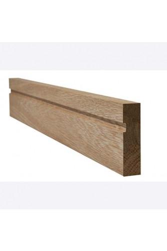 Internal Architrave Single Groove Oak Untreated