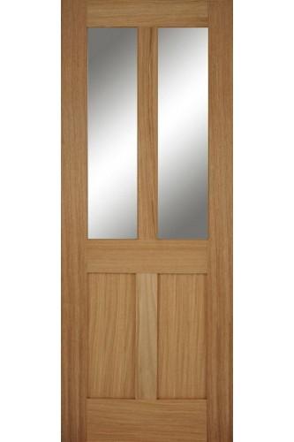 Internal Door Oak Bristol 2P 2L Untreated