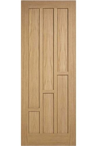 Internal Fire Door Oak Coventry Prefinished