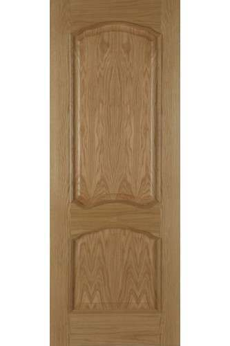 Internal Fire Door Oak Louis with Raised Moulding Unfinished Mendes