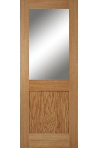 Internal Oak Door Marlborough 1Light 1Panel
