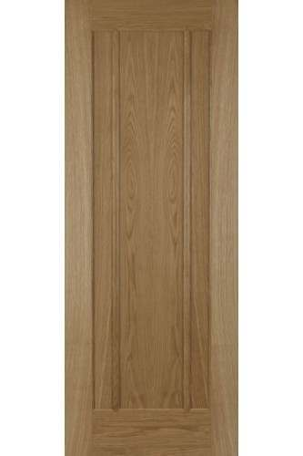 Internal Fire Door Oak Salisbury 3 Panel Untreated