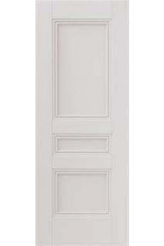 Internal Fire Door White Primed Osborne 3 Panel with decorative flush mouldings (RAL colour finish available)