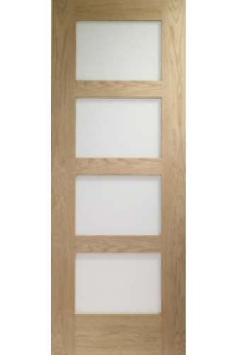 Door oak shaker with obscure glass untreated internal door oak shaker with obscure glass untreated planetlyrics Choice Image