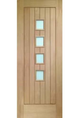 Oak internal door contemporary suffolk 4 light obscure glazed internal door oak contemporary suffolk 4 light with obscure glass unfinished planetlyrics Choice Image