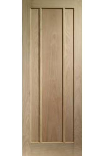 Internal Door Oak Worcester 3 Panel Prefinished