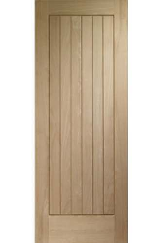 External Door Oak Norfolk Dowelled