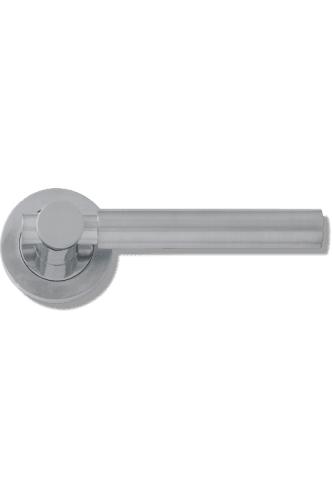 Internal Door Handle Laser PCP/SCP Lever on 51mm Round Rose
