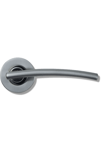 Door Handle Opal Lever on Round Rose