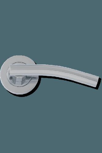 Internal Door Handle Puma Lever on Round Rose