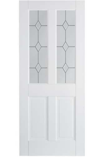 Internal Door Canterbury 2P/2L Solid White Primed