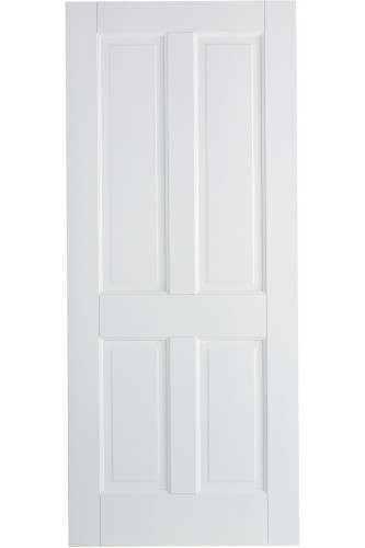 Internal Door Canterbury 4 Panel Solid White Primed
