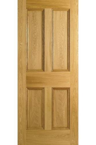 Internal Door Oak Nostalgia 4 Panel