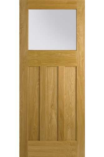 Internal Door Oak Nostalgia DX30's Style Unglazed LPD