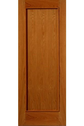 Oak Internal Fire Door R 11 N with Raised Mouldings Un finished