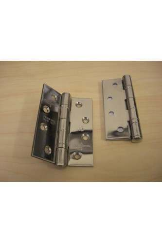 "Ball Bearing Butt Hinge for use on Fire Door / External Doors (4"" x 3"") (sold as pair)"