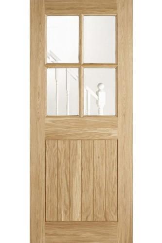 External Door Oak Cottage 4 Light