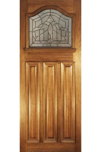 External Door Estate Crown Hardwood Lead Double Glazed