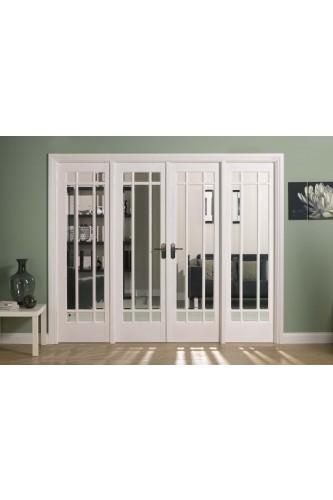 Internal Room Divider White Primed W8 Manhattan