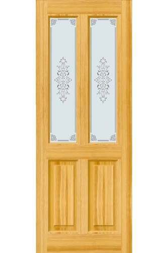 Internal Door Clear Pine Victorian With Campion Glass