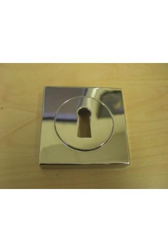 Escutcheon Standard Key SQUARE ROSE Sold as Single Item
