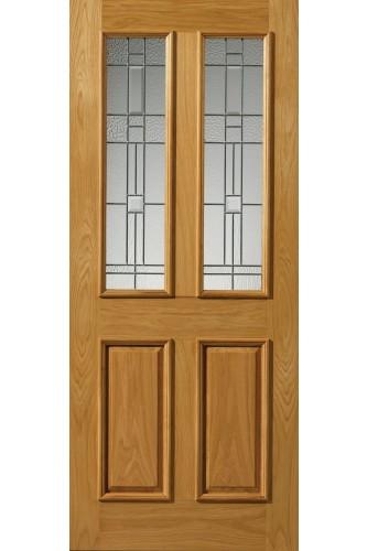 External Oak Thermal L Rioja Door