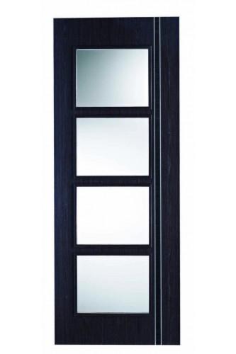 Internal Door Ash Grey Zanzibar Glazed Prefinished