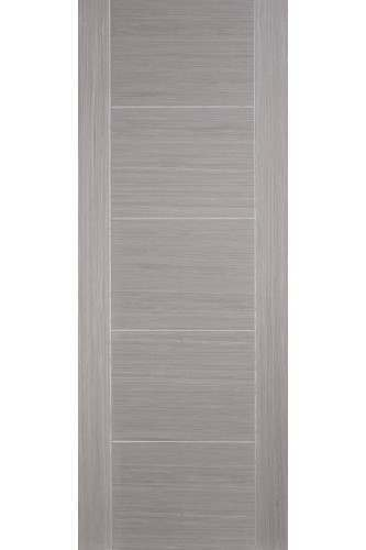 Fire Door Oak with Light Grey Stain Vancouver Flush