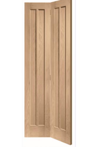 Internal Door Oak Worcester Bi Fold Untreated