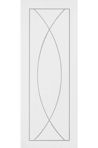 Internal Fire Door White Primed Pesaro