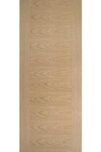 Internal Fire Door Oak Aspect Cross-Veneered Flush Prefinished