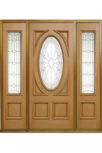 External Door Oak Sovereign Door With Empress Sovereign Sidelight And Sidelig