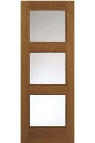 JB Kind Internal Door Royale Modern R-03-3V Oak Prefinished