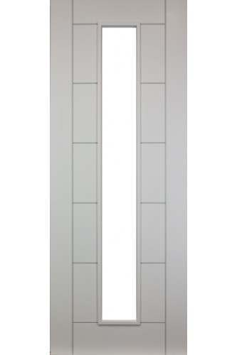Internal Door White Primed Seville Unglazed - DISCONTINUED - PLEASE CALL OFFICE TO CHECK AVAILABILITY