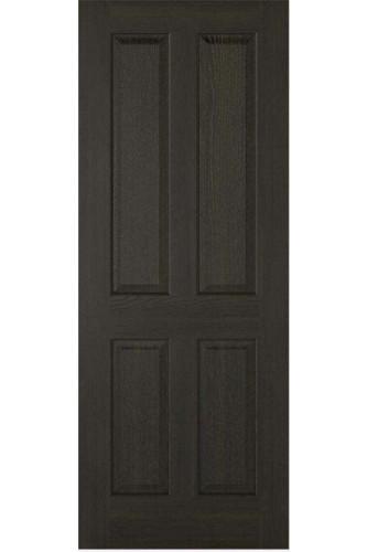 Internal Door Smoked Oak Regency 4 Panel Prefinished