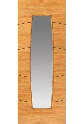 Internal Door Oak Sol Glazed