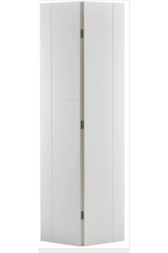 Internal Bifold Door White Primed Vancouver 5 Panel
