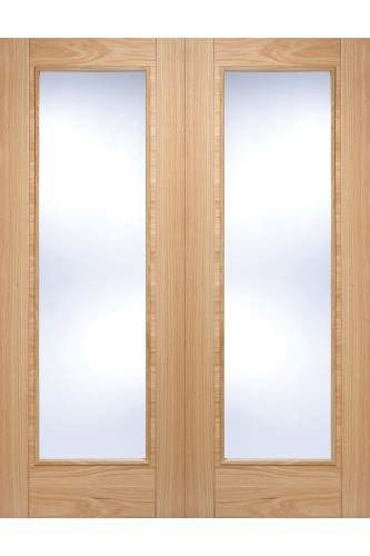 Vancouver Door Pair with Clear Glass
