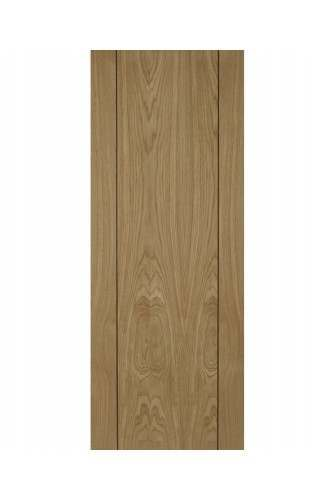 """Internal Door Oak Vision With Walnut Inlay Pre Finished - CLEARANCE - 1 x 30"""""""