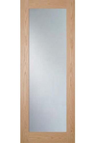 Internal Door Oak Walden With Obscure Glass Unfinished