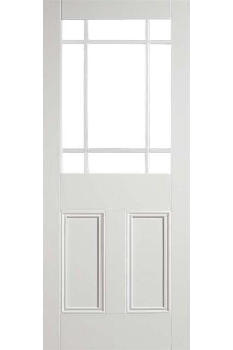 Internal Door White Primed Solid Nostalgia Downham Unglazed (LPD)