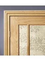 Internal Oak Veneered Architrave Set Prefinished Ogee Profile