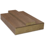 Internal Walnut Door Lining Set with removable stop Prefinished