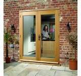 External French Door 6ft Oak La Porte Pre Finished
