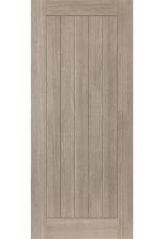 Internal Door LAMINATE Grey Coloured wood effect Colorado Prefinished