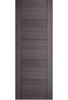 Internal Door Ash Grey Vancouver 5 Panel Prefinished