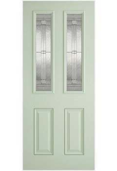 External Door Composite GRP Malton  Lead Double Glazed Prefinished - Suitable for trimming 60mm (Door Only) - Colour Options