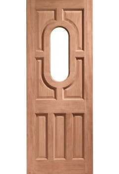 XL External Doors Hardwood Acacia Unglazed Dowelled - DISCONTINUED, PLEASE RING OFFICE FOR STOCK LEVELS